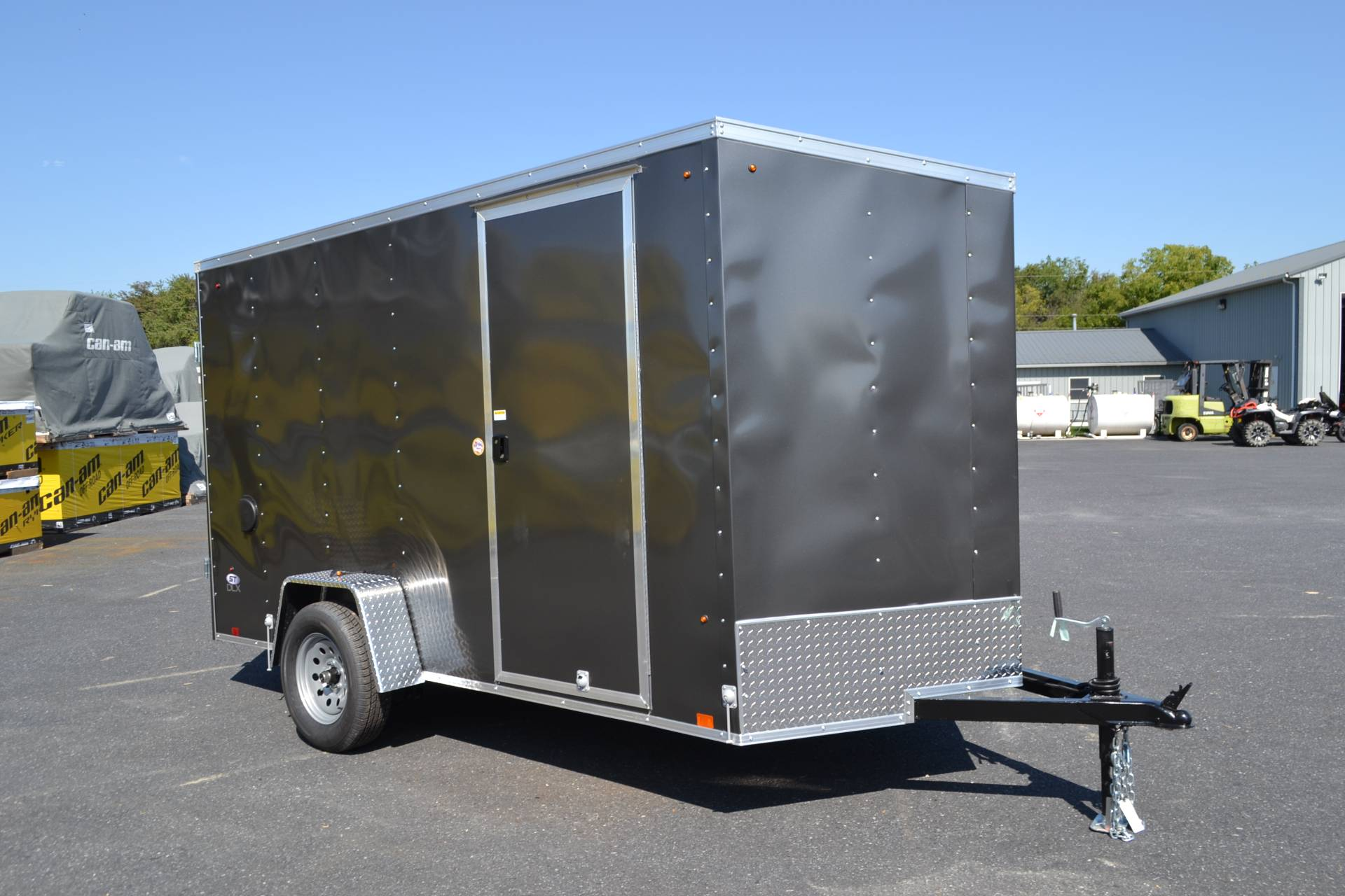 2020 Look Trailers 6X12 STDLX Cargo Trailer Double Door +6 in Harrisburg, Pennsylvania - Photo 2