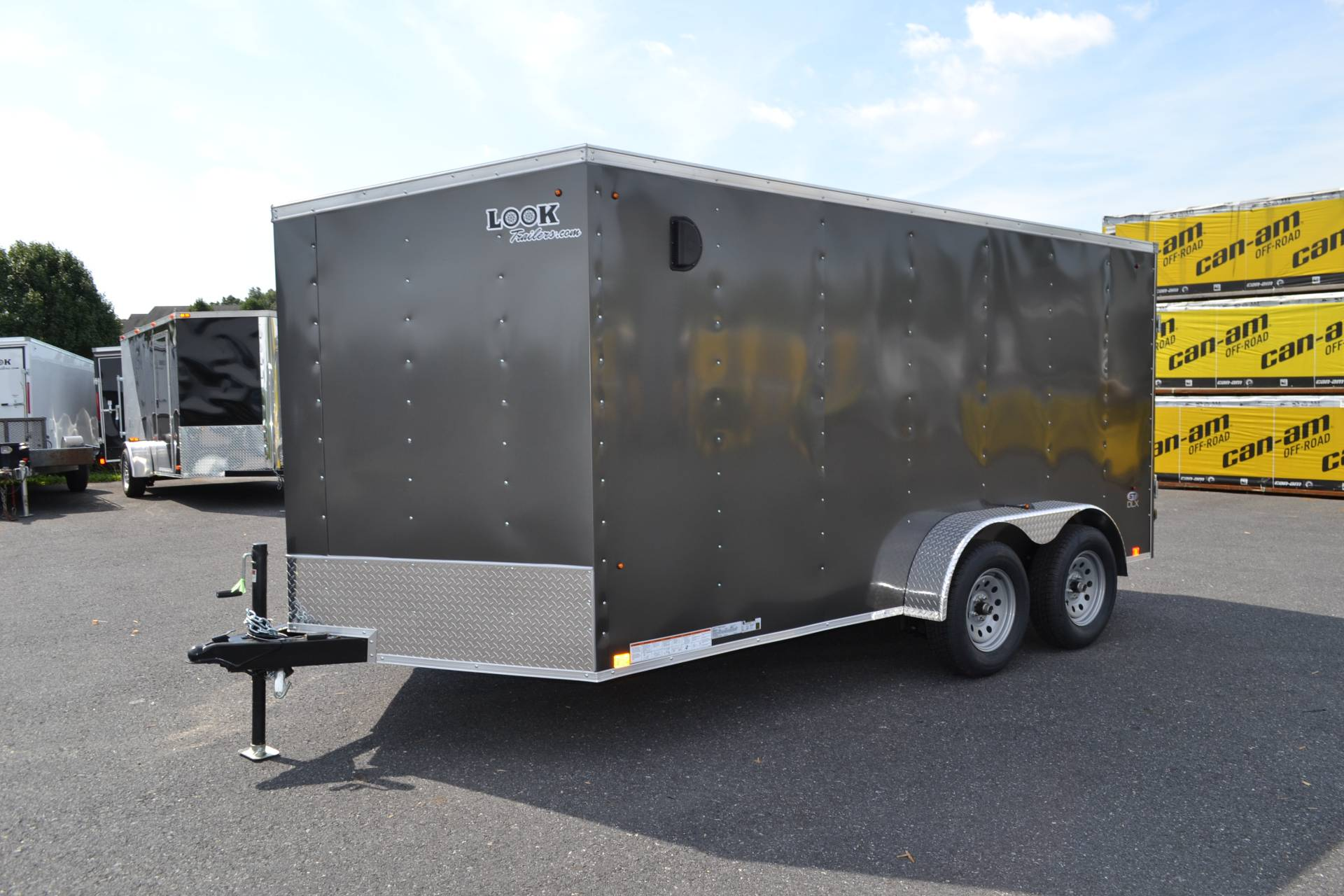 2020 Look Trailers 7X14 STDLX Cargo Trailer Ramp in Harrisburg, Pennsylvania - Photo 1
