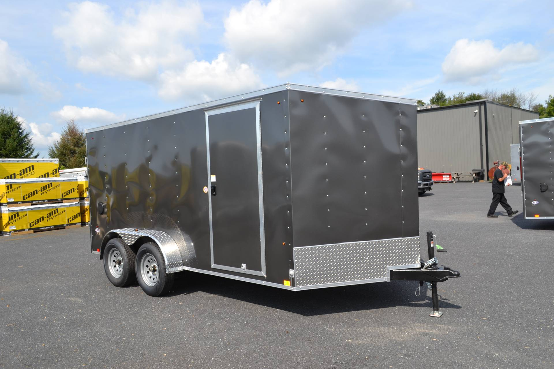 2020 Look Trailers 7X14 STDLX Cargo Trailer Ramp in Harrisburg, Pennsylvania - Photo 2