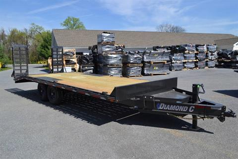 2019 Diamond C 22x102 DEC Equipment Trailer XWR in Harrisburg, Pennsylvania