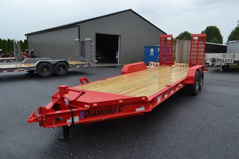 2020 Diamond C 20X82 LPX Equipment Trailer XWR in Harrisburg, Pennsylvania - Photo 1