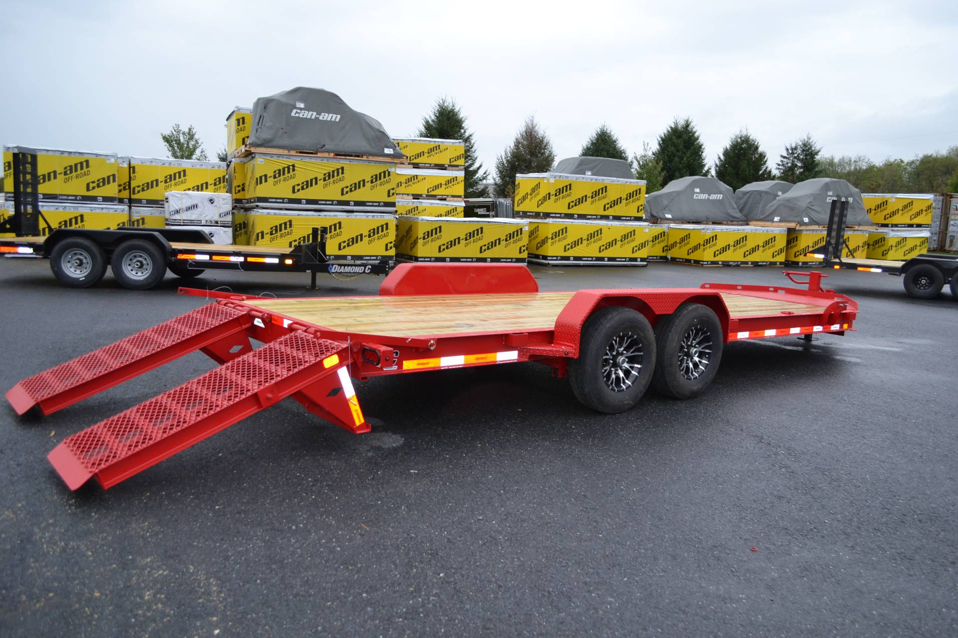 2020 Diamond C 20X82 LPX Equipment Trailer XWR in Harrisburg, Pennsylvania - Photo 14