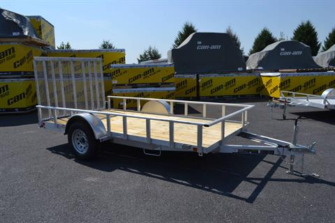 2021 Carry-On Trailers 6x12 AGW Aluminum Utility Trailer in Harrisburg, Pennsylvania - Photo 2
