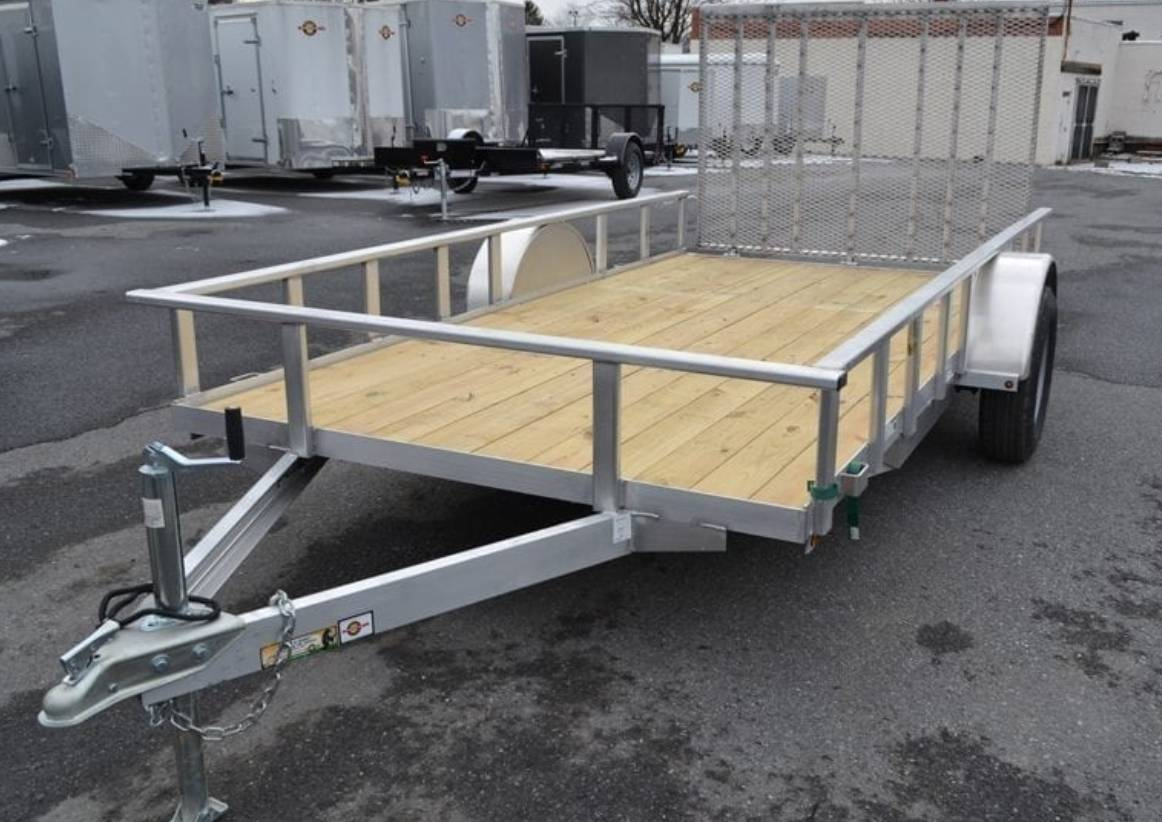2021 Carry-On Trailers 6x12 AGW Aluminum Utility Trailer in Harrisburg, Pennsylvania - Photo 3