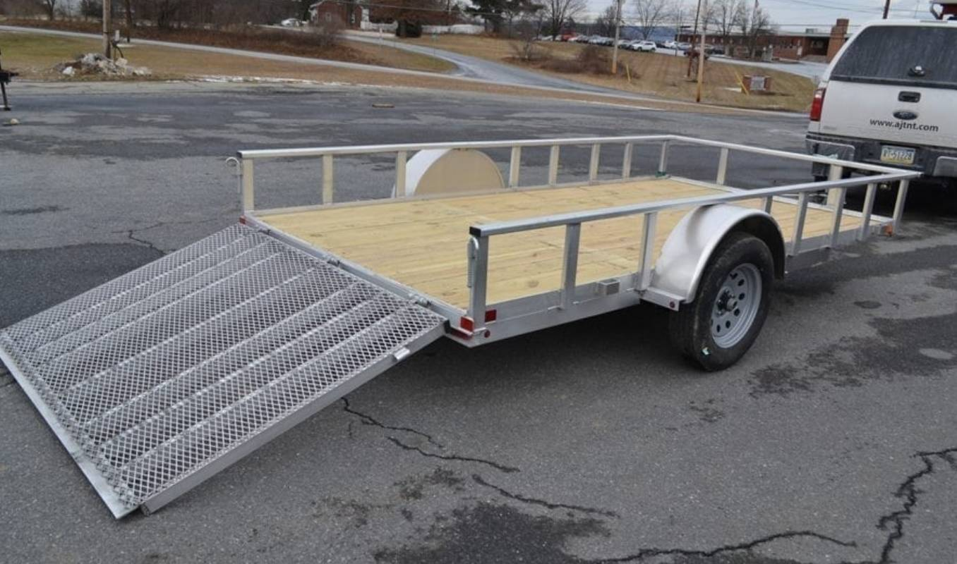2021 Carry-On Trailers 6x12 AGW Aluminum Utility Trailer in Harrisburg, Pennsylvania - Photo 4