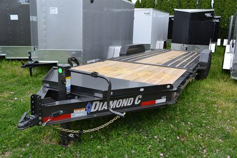 2021 Diamond C 24X82 HDT207 Equipment Trailer BW in Harrisburg, Pennsylvania - Photo 1