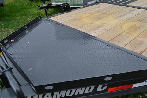 2021 Diamond C 24X82 HDT207 Equipment Trailer BW in Harrisburg, Pennsylvania - Photo 4
