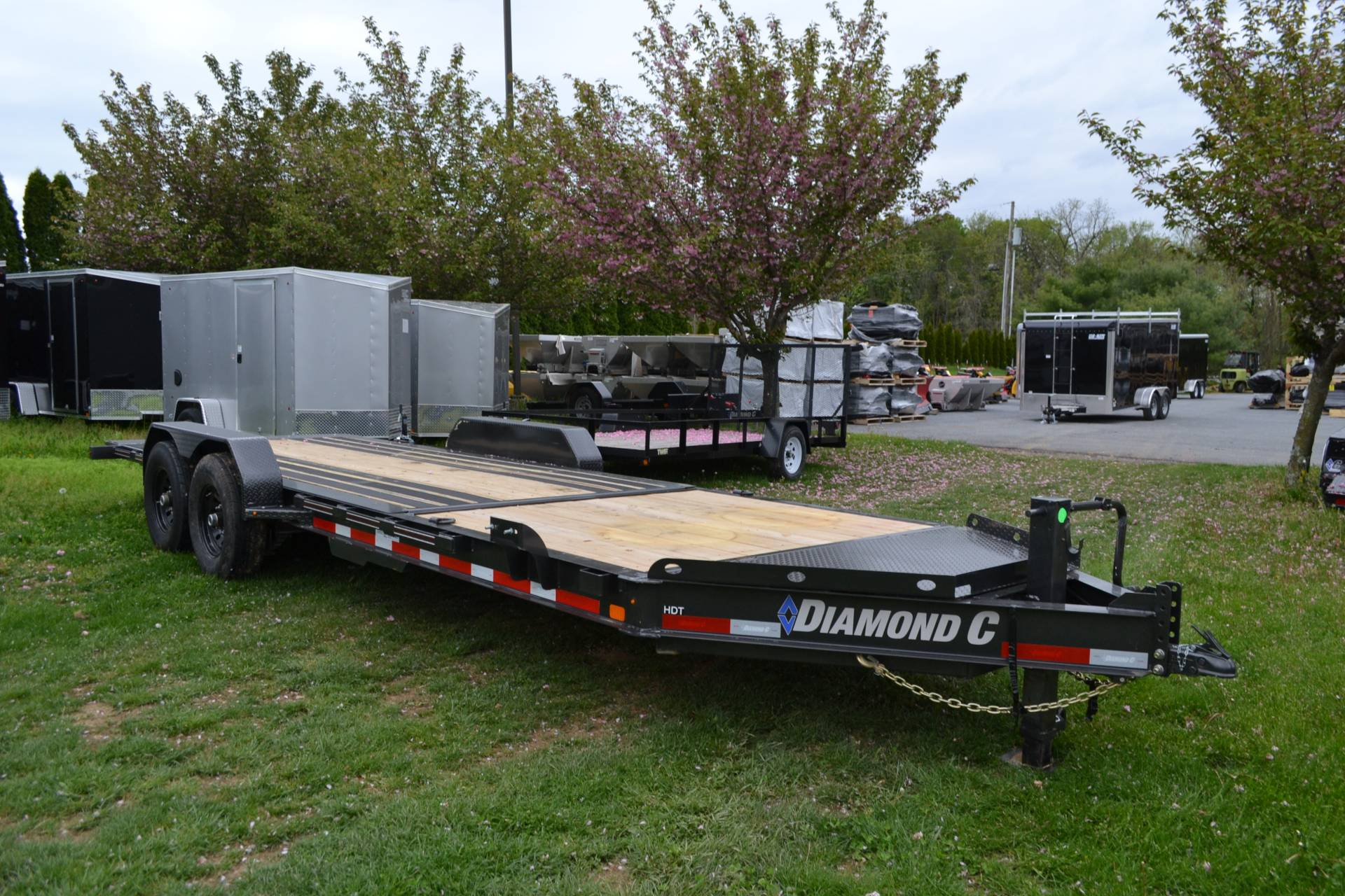 2021 Diamond C 24X82 HDT207 Equipment Trailer BW in Harrisburg, Pennsylvania - Photo 6