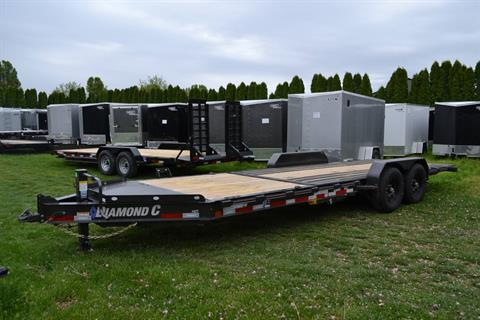 2021 Diamond C 24X82 HDT207 Equipment Trailer BW in Harrisburg, Pennsylvania - Photo 8