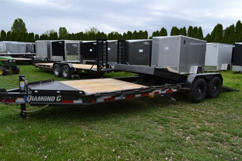 2021 Diamond C 24X82 HDT207 Equipment Trailer BW in Harrisburg, Pennsylvania - Photo 14