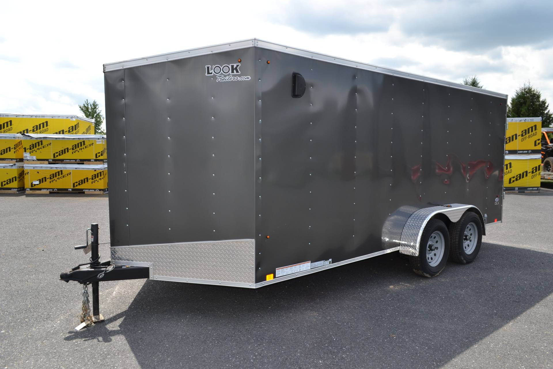 2019 Look Trailers 7X16 STDLX Cargo Trailer Double Door in Harrisburg, Pennsylvania - Photo 1