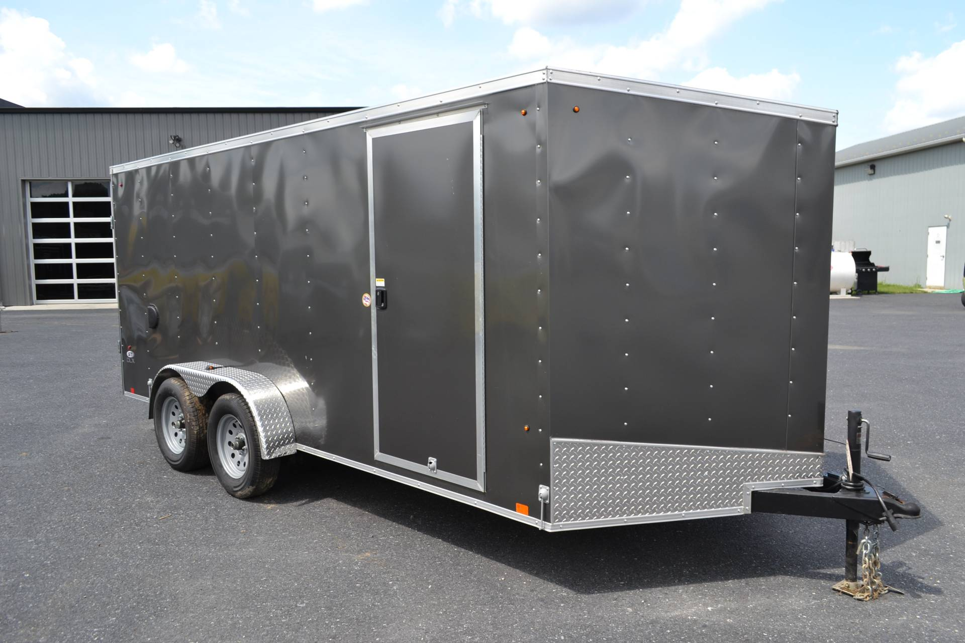 2019 Look Trailers 7X16 STDLX Cargo Trailer Double Door in Harrisburg, Pennsylvania - Photo 2