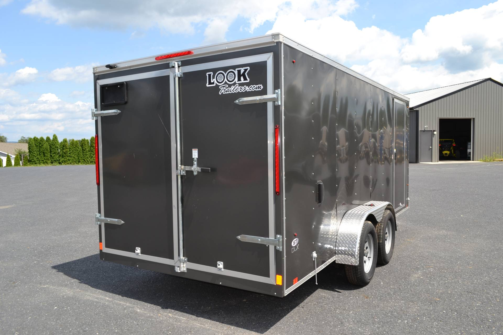 2019 Look Trailers 7X16 STDLX Cargo Trailer Double Door in Harrisburg, Pennsylvania - Photo 5