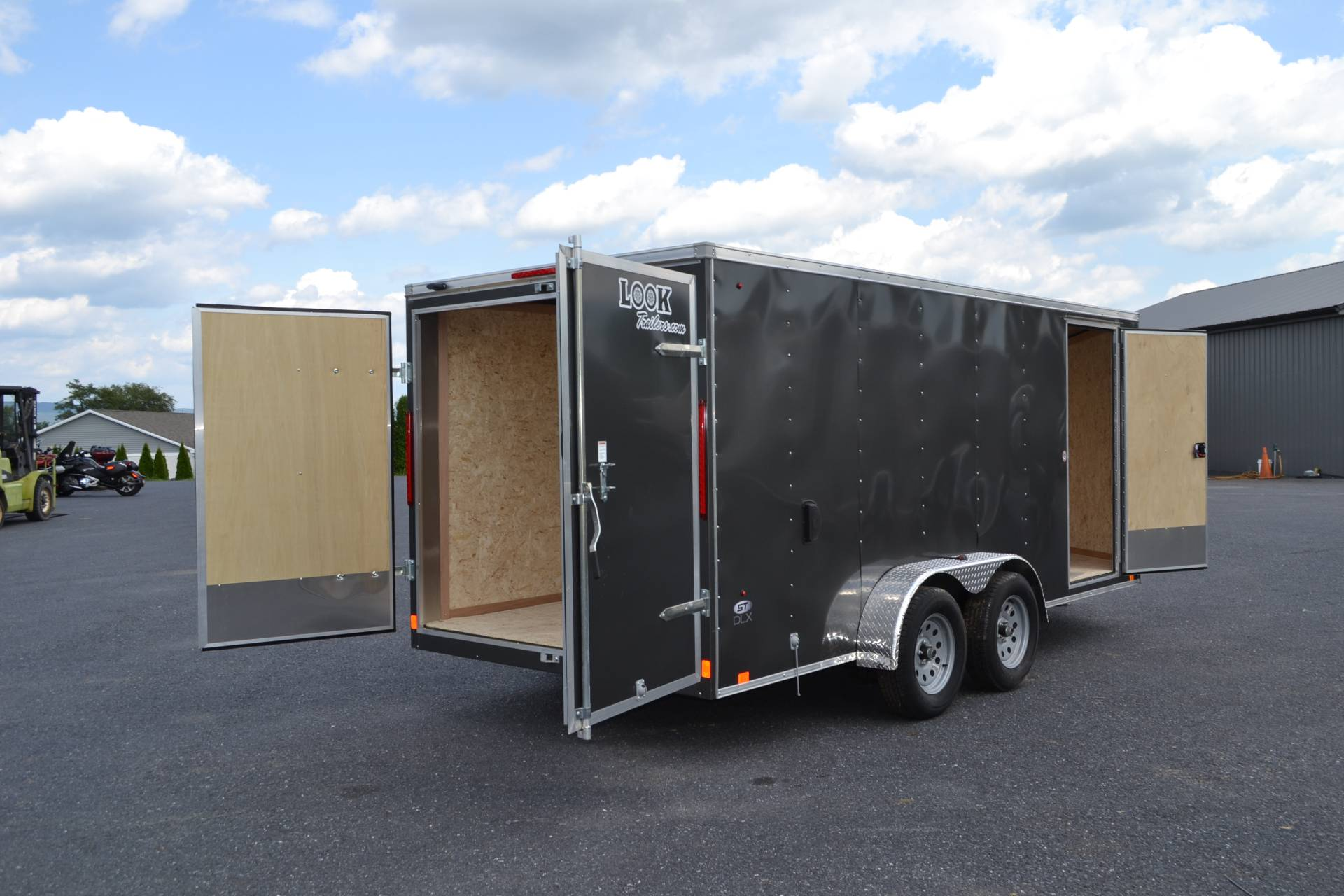 2019 Look Trailers 7X16 STDLX Cargo Trailer Double Door in Harrisburg, Pennsylvania - Photo 10