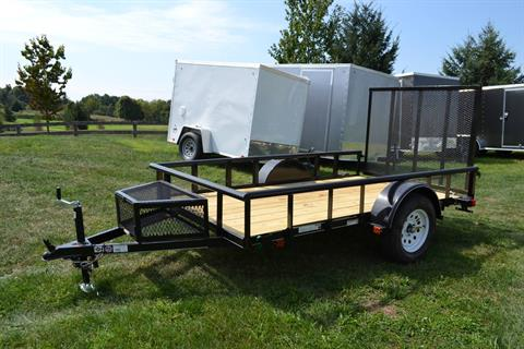 2020 Carry-On Trailers 5.5x10 Utility Trailer PT 3K in Harrisburg, Pennsylvania