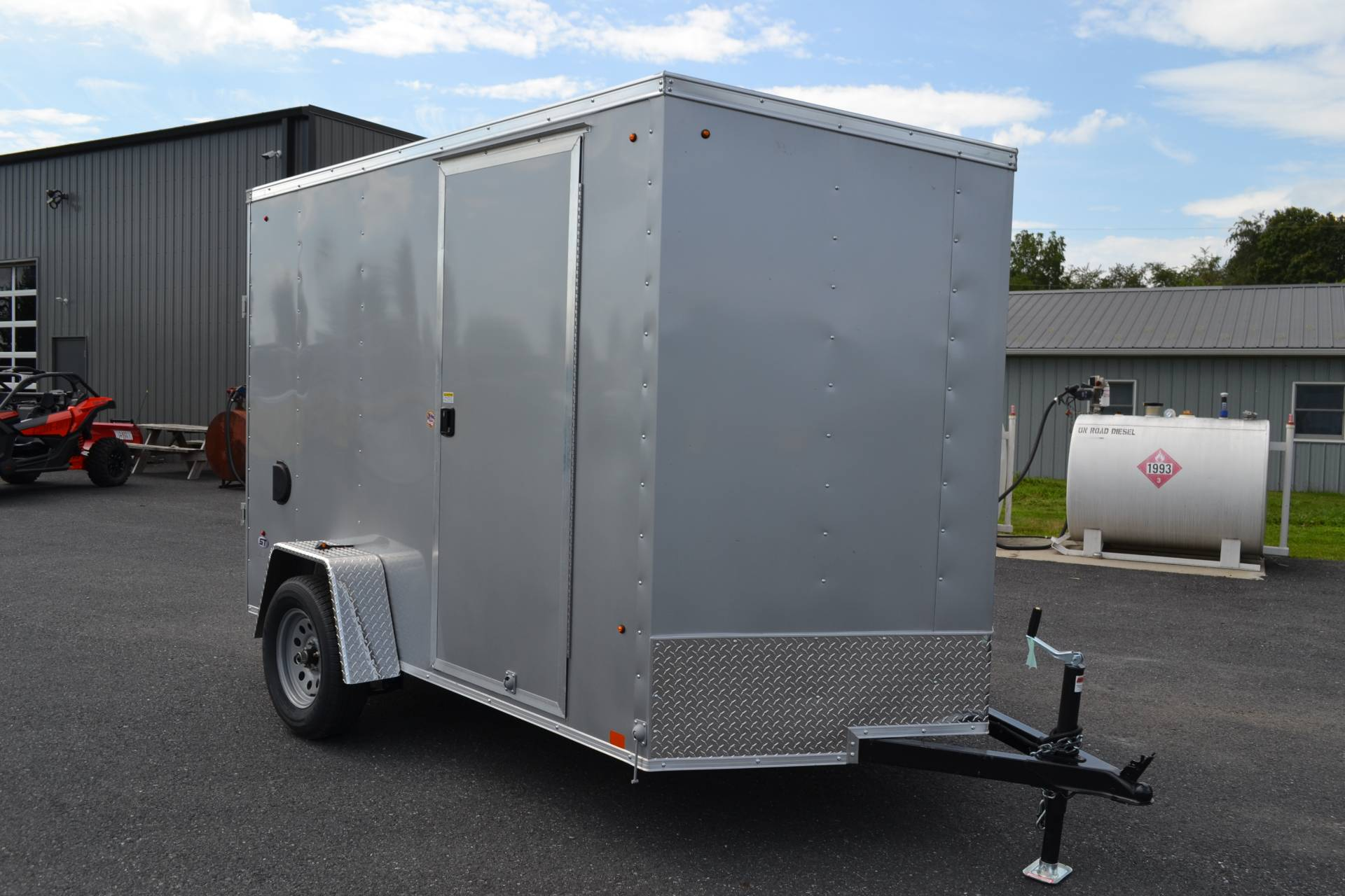 2020 Look Trailers 6X10 STDLX Cargo Trailer Ramp+6 in Harrisburg, Pennsylvania - Photo 2
