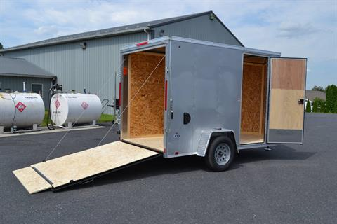 2020 Look Trailers 6X10 STDLX Cargo Trailer Ramp+6 in Harrisburg, Pennsylvania - Photo 13