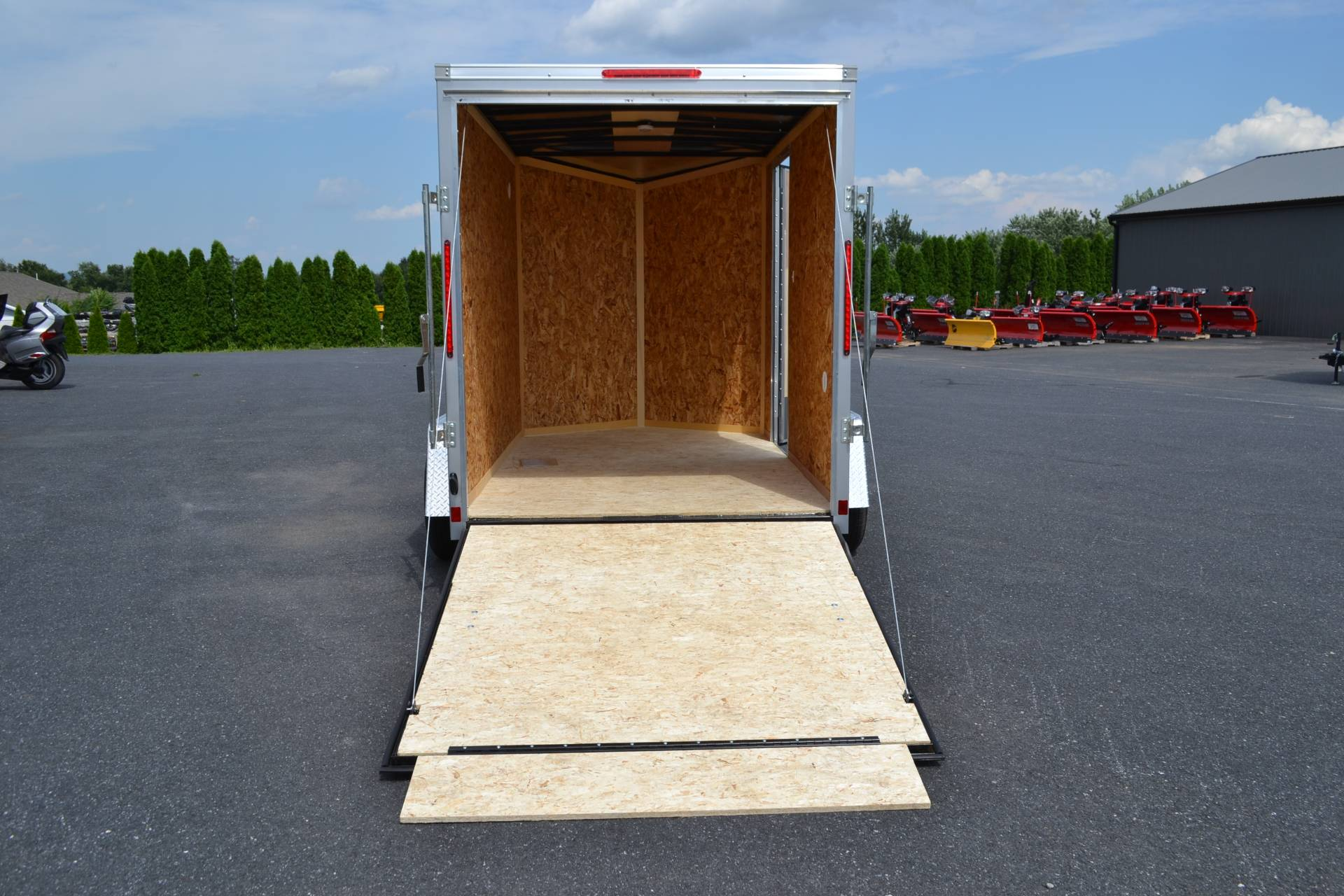 2020 Look Trailers 6X10 STDLX Cargo Trailer Ramp+6 in Harrisburg, Pennsylvania - Photo 14