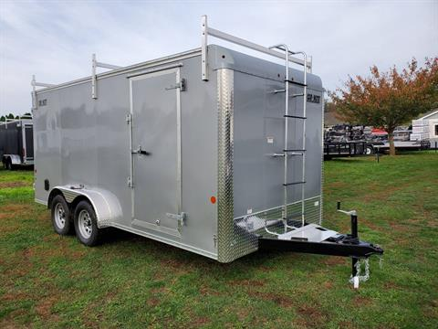 2020 Car Mate Trailers 7X16 Contractor Trailer PKG2 Double Door in Harrisburg, Pennsylvania - Photo 3