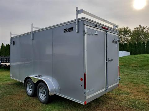 2020 Car Mate Trailers 7X16 Contractor Trailer PKG2 Double Door in Harrisburg, Pennsylvania - Photo 5