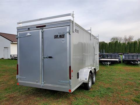 2020 Car Mate Trailers 7X16 Contractor Trailer PKG2 Double Door in Harrisburg, Pennsylvania - Photo 6