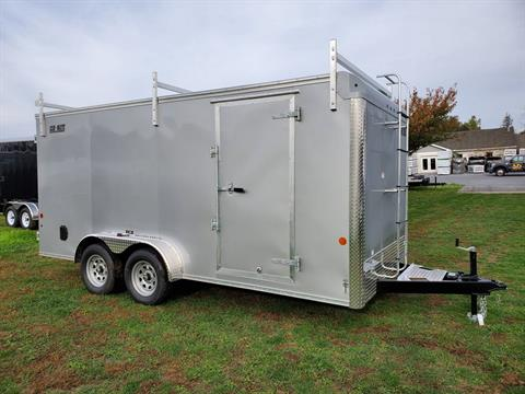 2020 Car Mate Trailers 7X16 Contractor Trailer PKG2 Double Door in Harrisburg, Pennsylvania - Photo 7