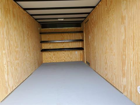 2020 Car Mate Trailers 7X16 Contractor Trailer PKG2 Double Door in Harrisburg, Pennsylvania - Photo 8
