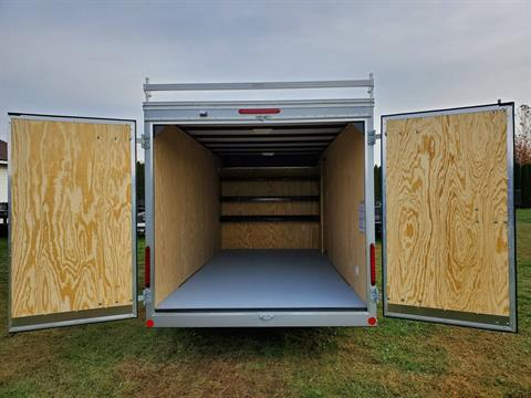 2020 Car Mate Trailers 7X16 Contractor Trailer PKG2 Double Door in Harrisburg, Pennsylvania - Photo 9