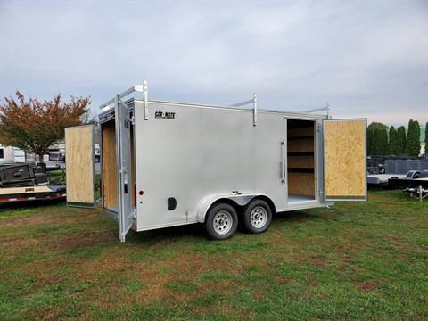 2020 Car Mate Trailers 7X16 Contractor Trailer PKG2 Double Door in Harrisburg, Pennsylvania - Photo 11
