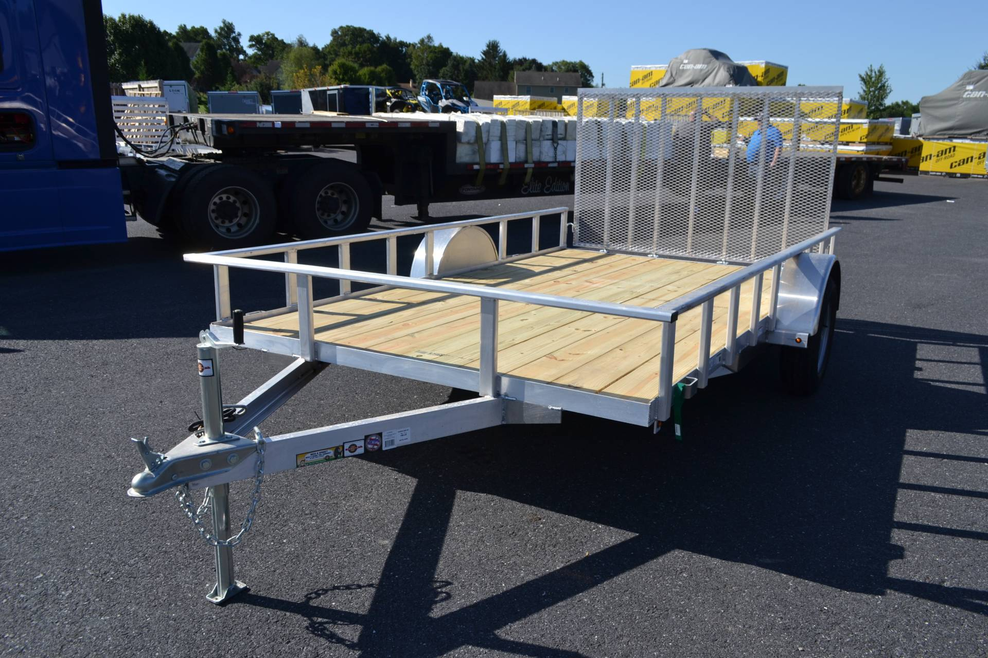 2021 Carry-On Trailers 7x12 AGW Aluminum Utility Trailer in Harrisburg, Pennsylvania - Photo 1
