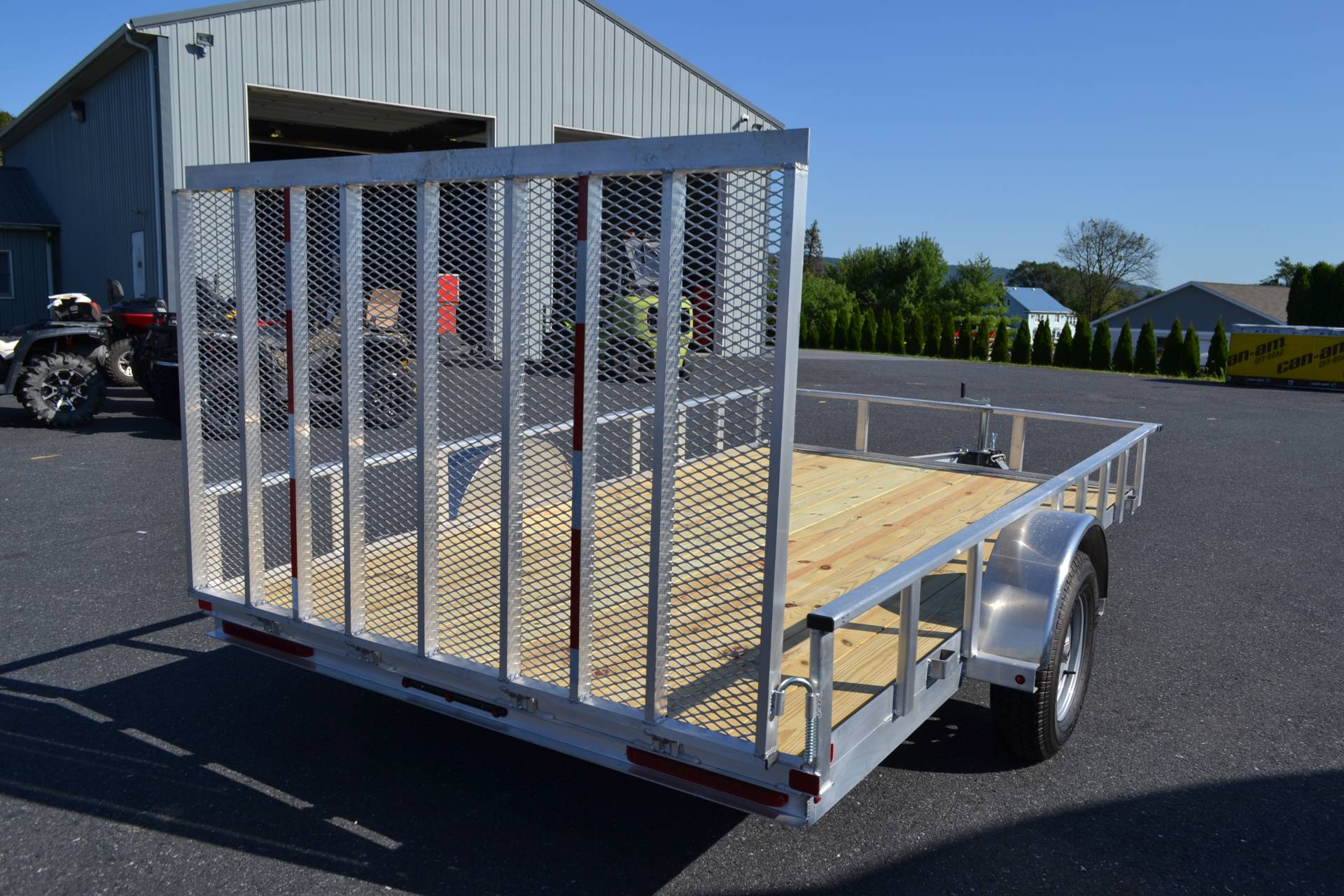 2021 Carry-On Trailers 7x12 AGW Aluminum Utility Trailer in Harrisburg, Pennsylvania - Photo 2