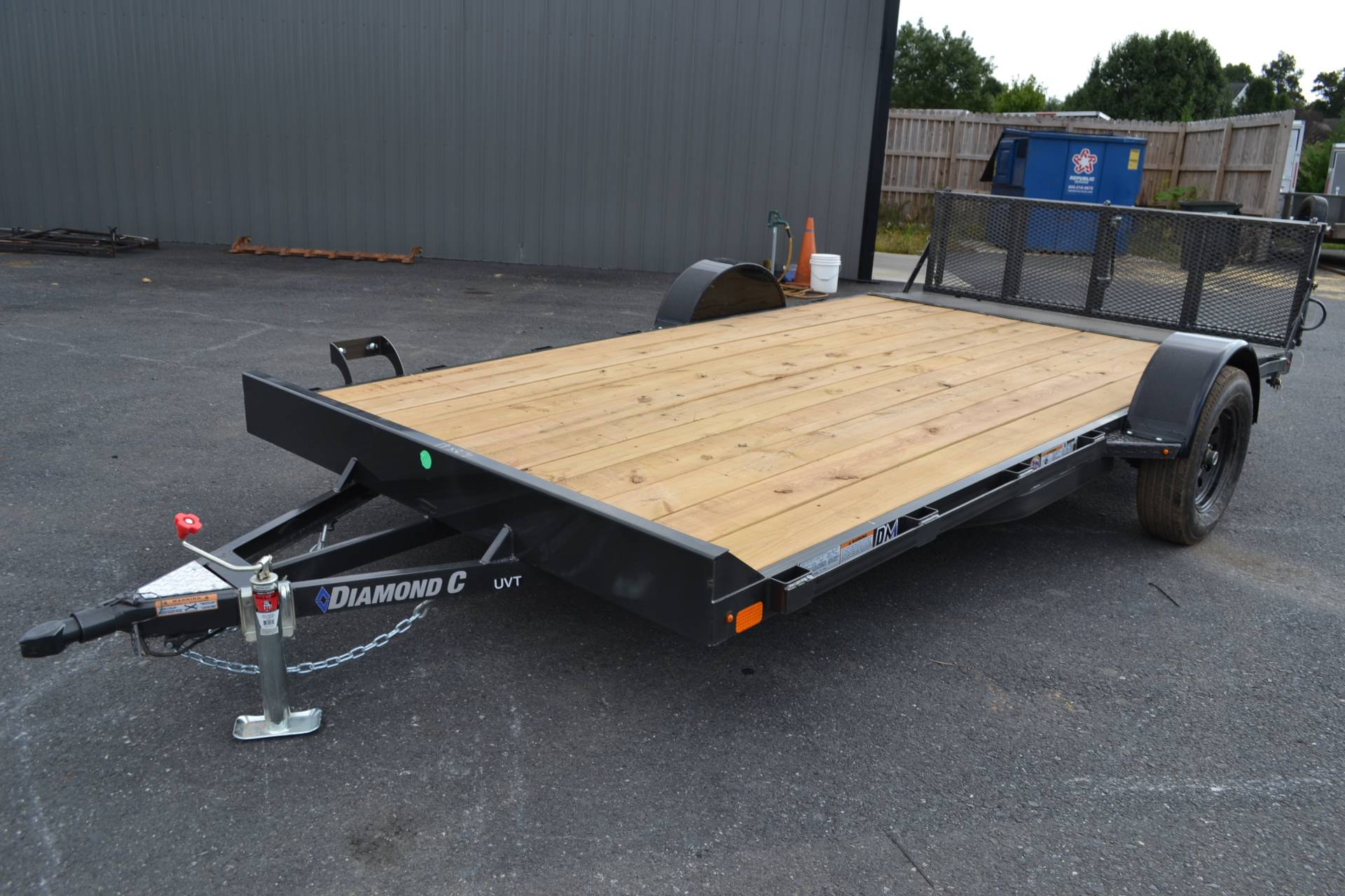2020 Diamond C 14X83 UVT ATV Trailer 3K in Harrisburg, Pennsylvania - Photo 1