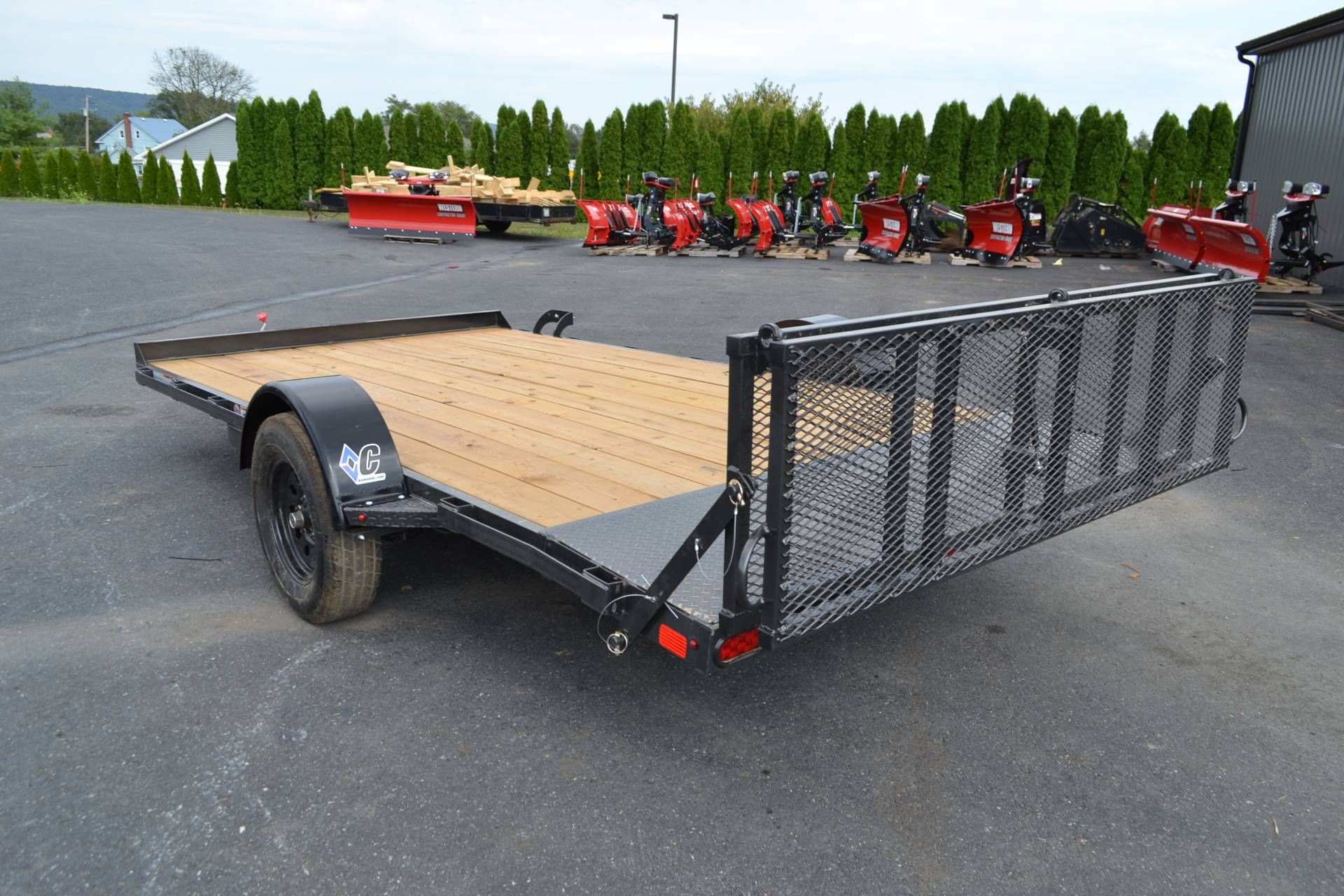 2020 Diamond C 14X83 UVT ATV Trailer 3K in Harrisburg, Pennsylvania - Photo 7