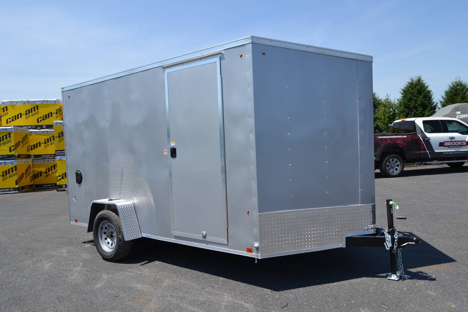 2020 Look Trailers 7X12 STDLX Cargo Trailer Ramp +6 in Harrisburg, Pennsylvania - Photo 2