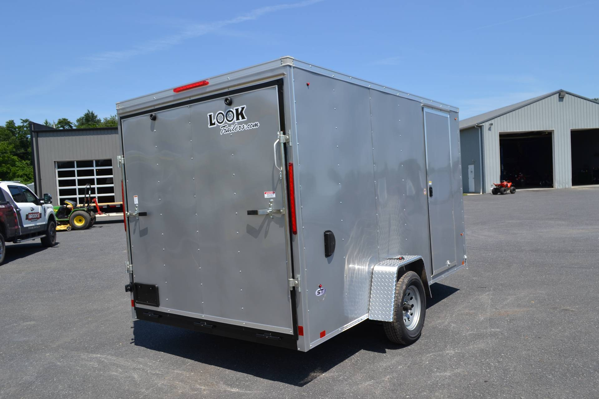 2020 Look Trailers 7X12 STDLX Cargo Trailer Ramp +6 in Harrisburg, Pennsylvania - Photo 3