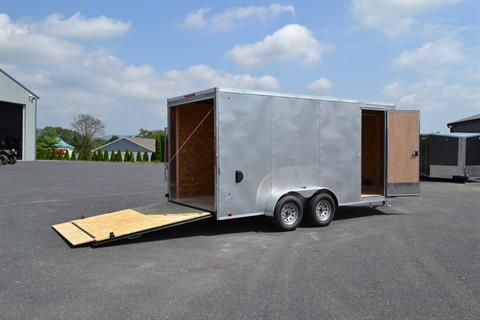 2020 Look Trailers 7X16 STDLX Cargo Trailer Ramp +12 in Harrisburg, Pennsylvania - Photo 3