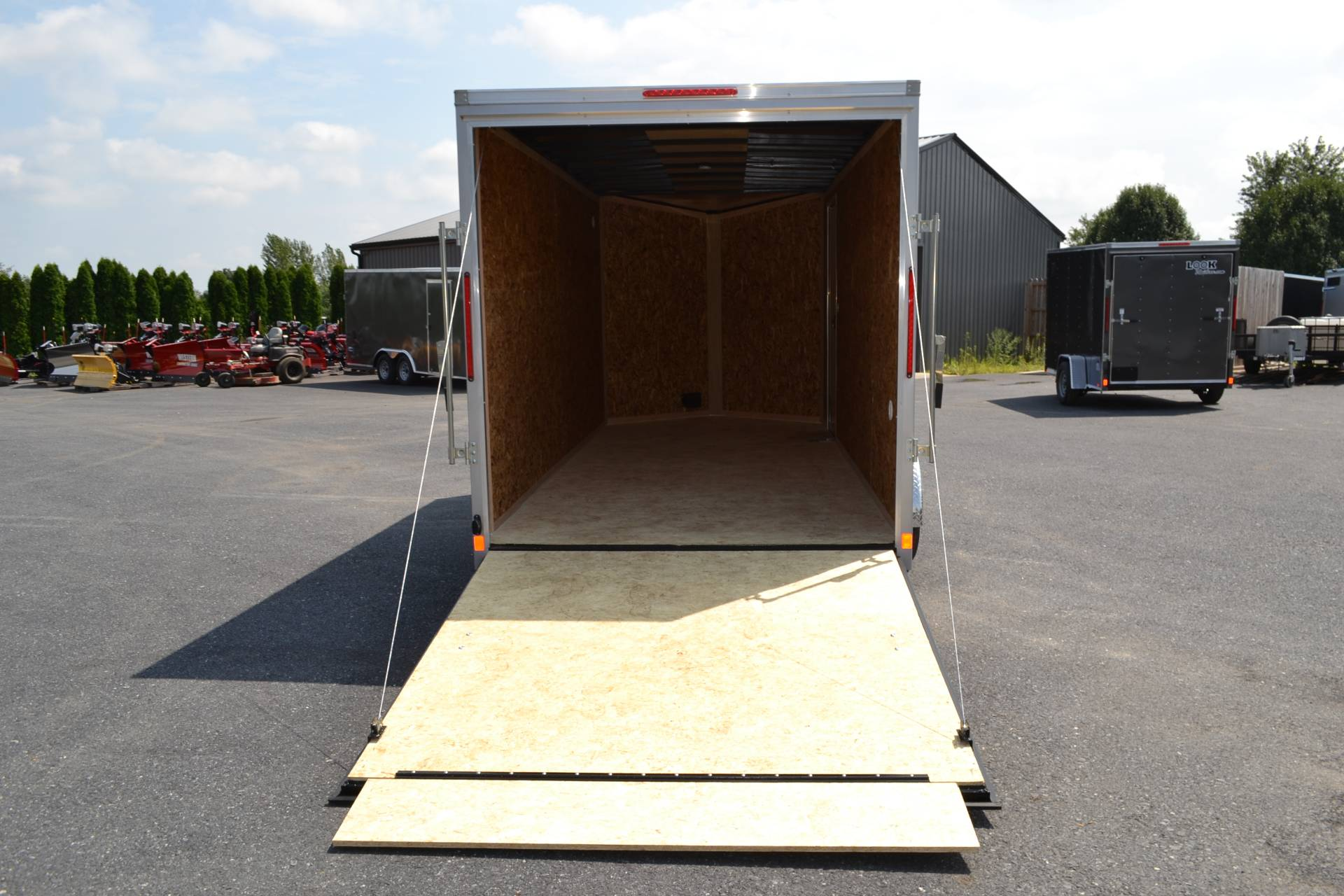 2020 Look Trailers 7X16 STDLX Cargo Trailer Ramp +12 in Harrisburg, Pennsylvania - Photo 4