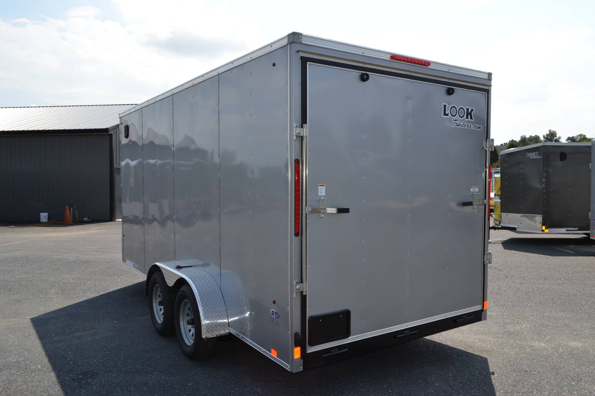 2020 Look Trailers 7X16 STDLX Cargo Trailer Ramp +12 in Harrisburg, Pennsylvania - Photo 8