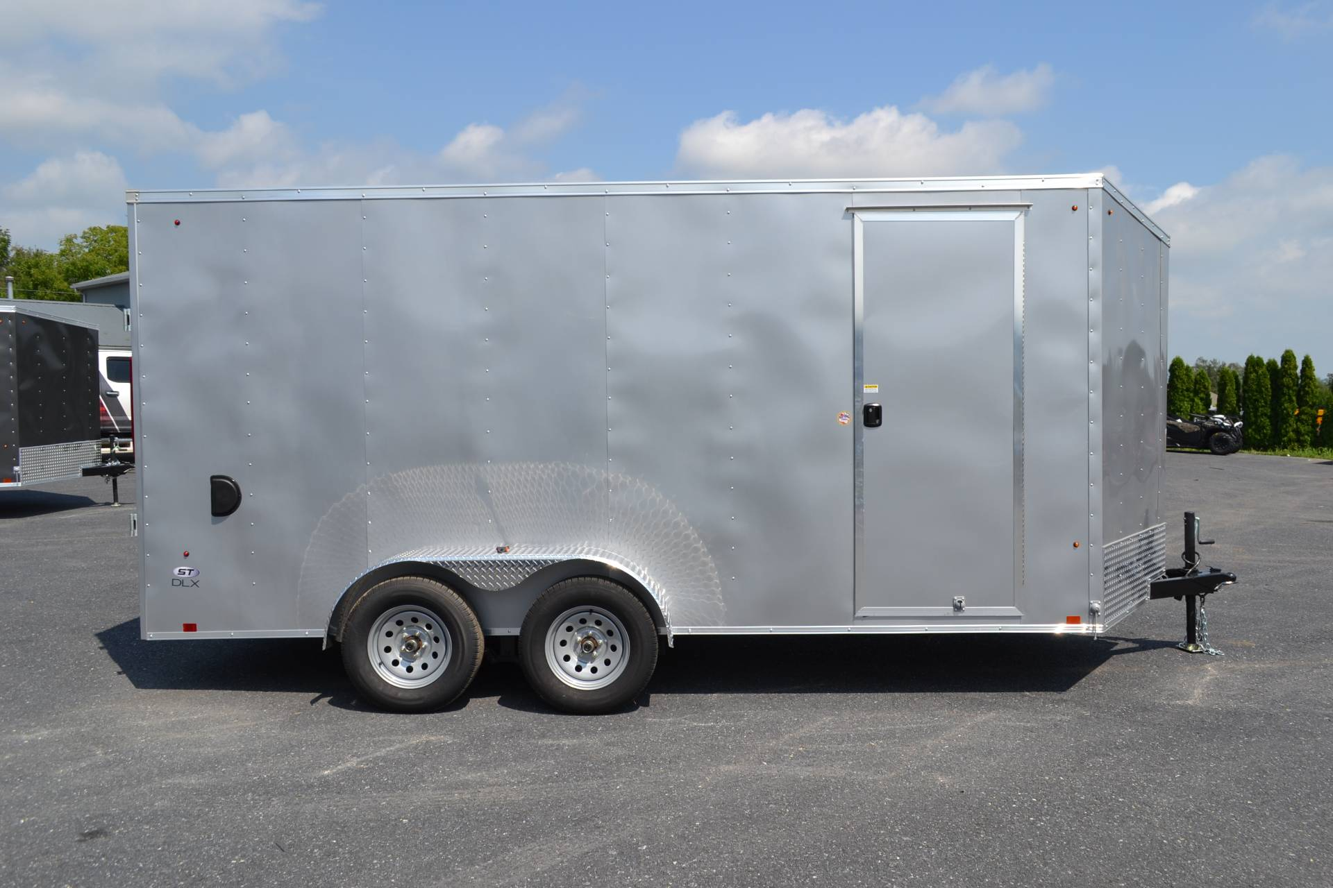 2020 Look Trailers 7X16 STDLX Cargo Trailer Ramp +12 in Harrisburg, Pennsylvania - Photo 11