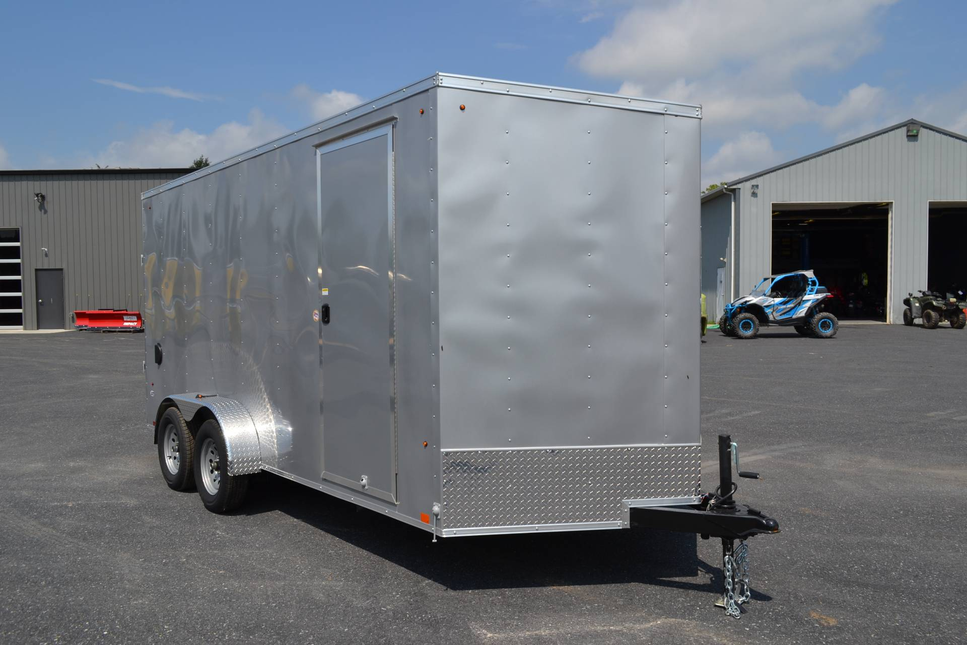 2020 Look Trailers 7X16 STDLX Cargo Trailer Ramp +12 in Harrisburg, Pennsylvania - Photo 12