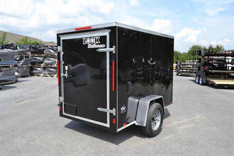 2020 Look Trailers 5X8 STDLX Cargo Trailer Barn Door in Harrisburg, Pennsylvania - Photo 4