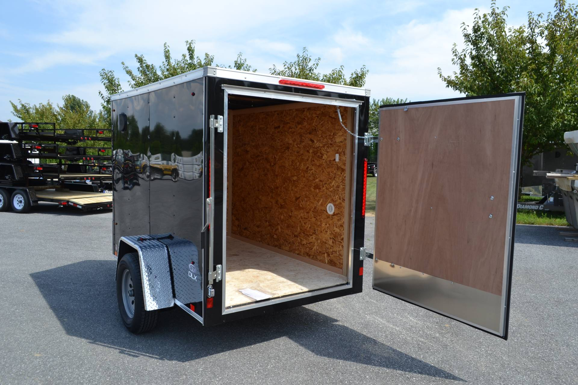 2020 Look Trailers 5X8 STDLX Cargo Trailer Barn Door in Harrisburg, Pennsylvania - Photo 14