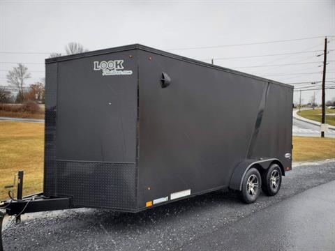 2021 Look Trailers 7X16 EWLC Black-Out Package Cargo Trailer Ramp ET+6 in Harrisburg, Pennsylvania - Photo 1