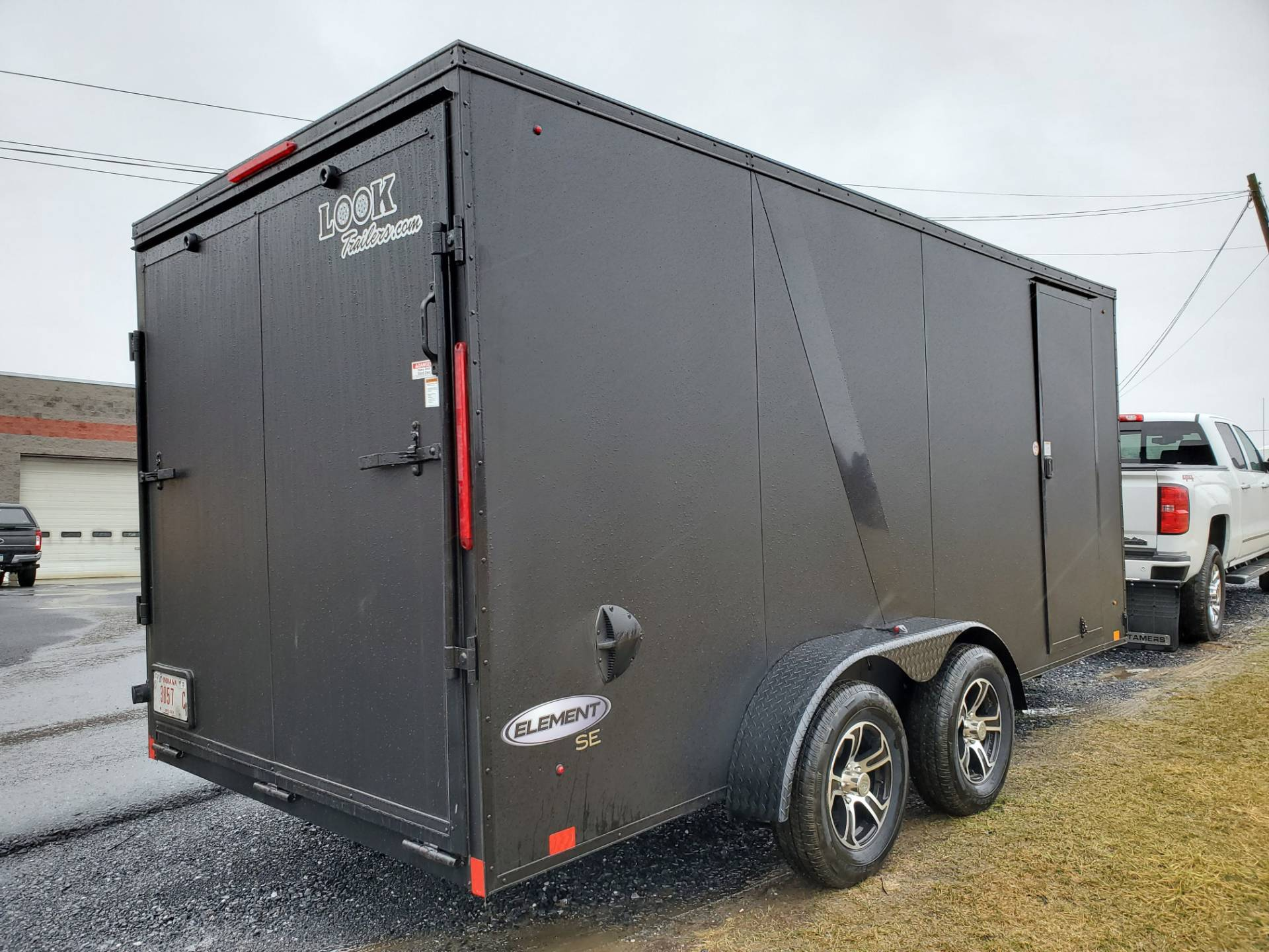 2021 Look Trailers 7X16 EWLC Black-Out Package Cargo Trailer Ramp ET+6 in Harrisburg, Pennsylvania - Photo 2