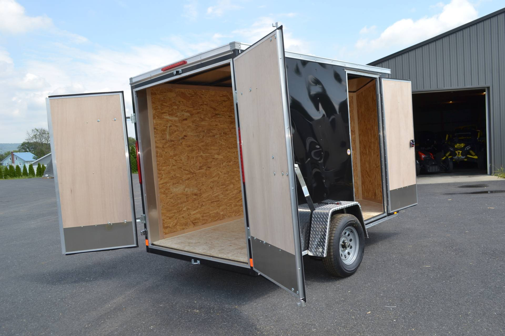 2021 Look Trailers 6X10 STDLX Cargo Trailer Double Door +6 in Harrisburg, Pennsylvania - Photo 3