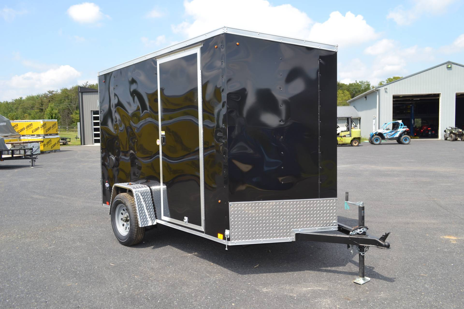 2021 Look Trailers 6X10 STDLX Cargo Trailer Double Door +6 in Harrisburg, Pennsylvania - Photo 9