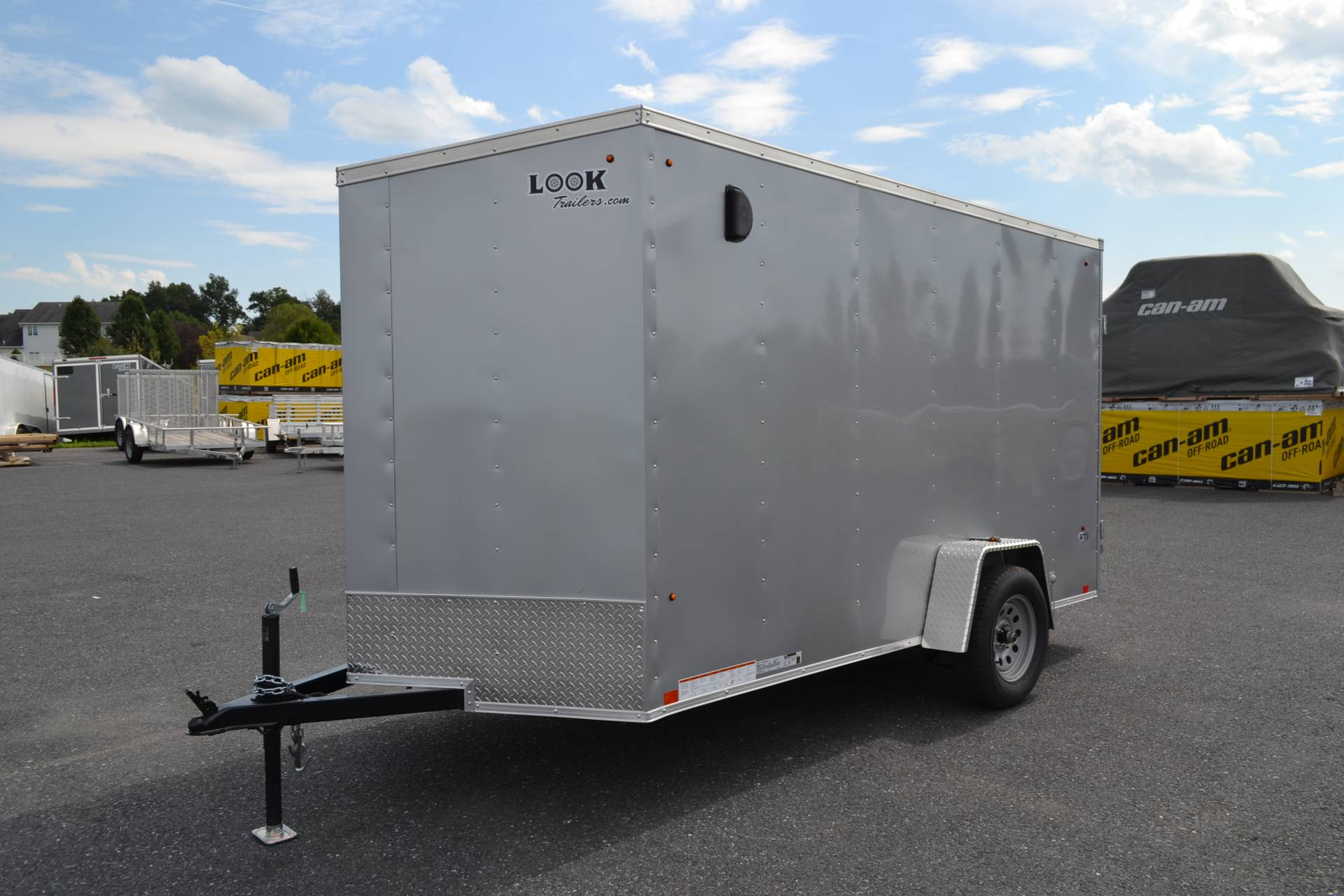 2020 Look Trailers 6X12 STDLX Cargo Trailer Double Door +6 in Harrisburg, Pennsylvania - Photo 1