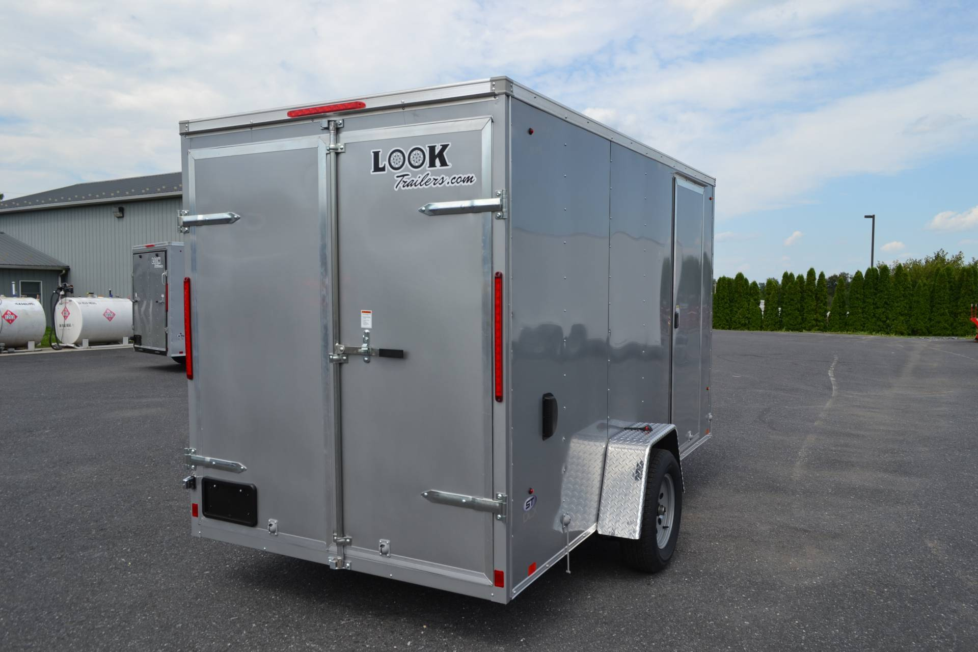 2020 Look Trailers 6X12 STDLX Cargo Trailer Double Door +6 in Harrisburg, Pennsylvania - Photo 6