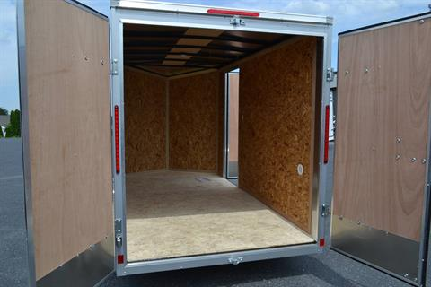 2020 Look Trailers 6X12 STDLX Cargo Trailer Double Door +6 in Harrisburg, Pennsylvania - Photo 13