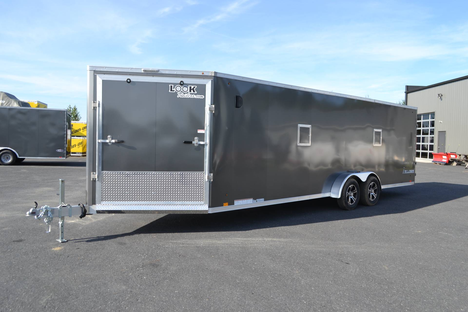 2020 Look Trailers 7x29 Avalanche Aluminum Enclosed Snowmobile Trailer 7K +6 in Harrisburg, Pennsylvania - Photo 1